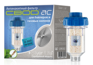 "Anti-scale filter Silver ""SVOD-AS""  100 for electric water heaters and gas-fired boilers"